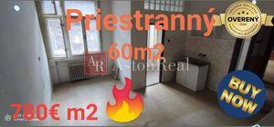 Na predaj 2 izbový byt (dvojizbový), Banská Bystrica