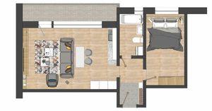 1 izbový byt Bytča predaj