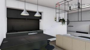2 izbový byt na prenájom v novostavbe s parkovacím státím kompletne moderne zariadený.