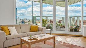 DELTA | PANORAMA CITY: 3 izbový byt na 17. poschodí, Staré Mesto, 92 m2