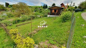 Záhradná chatka v tichom prostredí, Mojšová Lúčka, pozemok 480m²