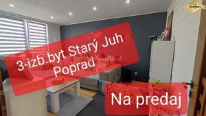 3-izbové byty na predaj v Poprade