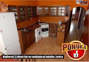 3 izbový byt Levice predaj