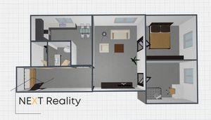 3 izbový byt Prievidza predaj