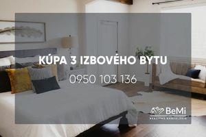 Kúpa 3 izbového bytu - Nová Baňa