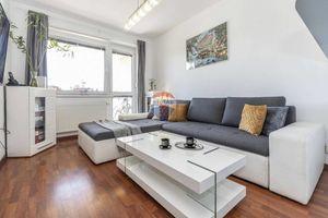 Na predaj 2-izbový byt s rozlohou (46m2) + priestranná loggia (11m2) Mierová ul.- Ružinov