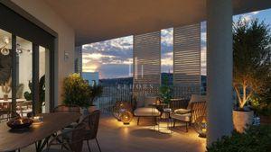 Veľkometrážny penthouse s terasou vo vysokom štandarde