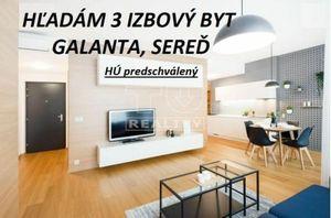 3 izbový byt (trojizbový), Galanta