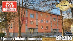 PREDAJ: 2 izbový byt - Brezno, Fučíková ulica, 55m²