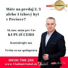 2 izbový byt Prešov kúpa