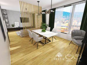 DELTA | DANUBIUS ONE – 2 izb. apartmán s panoramatickým výhľadom, 70 m2
