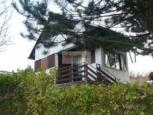 VIVAREAL* EXKLUZÍVNE !  Murovaná chatka v chatovej oblasti, 1000 m2 pozemok, Hlohovec