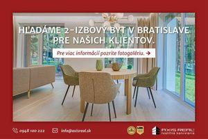 2-izbové byty na kúpu v Novom Meste