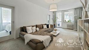 DELTA | 3 izbový byt s lodžiou, Lackova ul., Bratislava - Karlova Ves, 73 m2