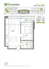Na predaj 2 izbový byt (dvojizbový), Bratislava - Devínska Nová Ves
