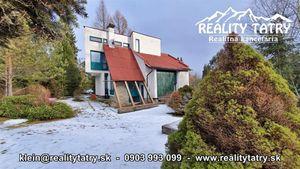 Rekreačná chata v Starej Lesnej v tichom prostredí s nádherným výhľadom na končiare Vysokých Tatier