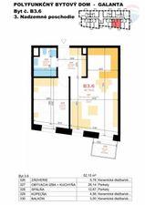 2 izbový byt (dvojizbový), Galanta
