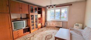 Na predaj 2izbový byt, 55m2, v centre mesta Žilina, Hollého ulica, vrátane murovanej garáže.