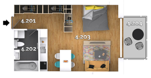 1 izbový byt Kvetoslavov predaj