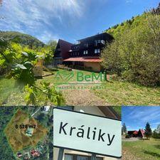 Chata na pozemku s rozlohou cca 8 000 m2 v obci Králiky,okr.Banská Bystrica ID 166-13-MIG