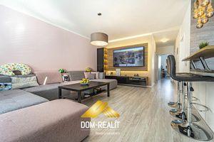 DOM-REALÍT ponúka novostavbu krásneho zariadeného 3 izbového bytu so záhradkou v Hamuliakove