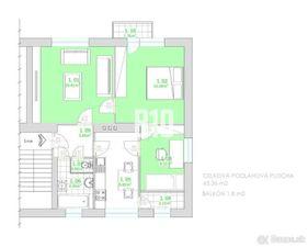 3-izbový byt so záhradkou