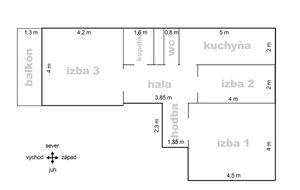 Ponúkame Vám na predaj 3 izbový byt Bratislava-Petržalka,  Jasovská ulica