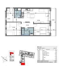 3 izbový byt Bratislava II - Ružinov predaj
