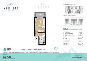 Na predaj 2 izbový byt (dvojizbový), Poprad