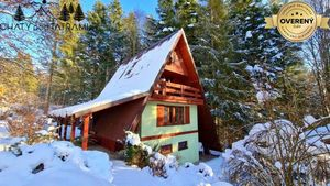 Veľká murovaná chata v Nízkych Tatrách Krpáčovo