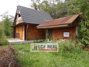 Nedokončená novostavba chaty 60m2, Čaňa