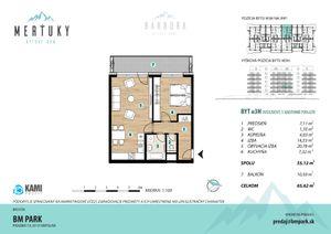 2 izbový byt Poprad predaj