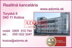 2 izbový byt Košice I - Staré Mesto podnájom