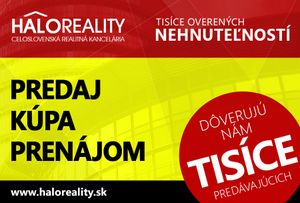 HALO reality - Kúpa chata Banská Bystrica