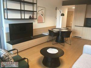 Prenájom 2 izb. novostavba SKY PARK s recepciou,  na nábreží Dunaja, balkón, s výhľadom na Bratislav