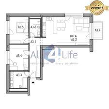 3 izbový byt (trojizbový), Piešťany