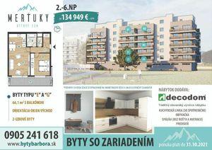 2-izbové byty v Poprade