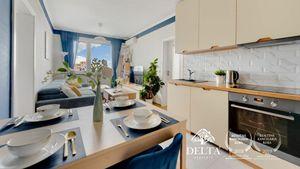 DELTA | Zariadený 4 izbový byt, Sabinovská – Ružinov, 70 m2