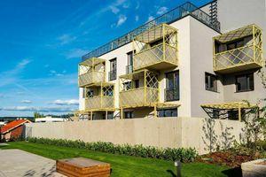 Predaj 3 izbový byt v novostavbe Kolísky s veľkou predzáhradkou, k nasťahovaniu.