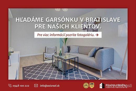 AXIS REAL:: Hľadáme pre našich klientov garsónku v Bratislave V. - obrázok