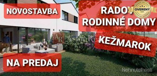Predaj novostavba - radové rodinné domy Kežmarok
