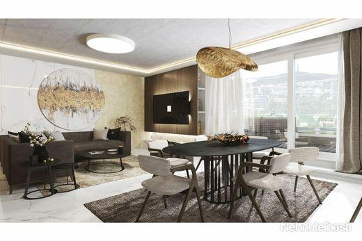 nový 4-izbový byt s veľkou záhradou v blízkosti Horského parku