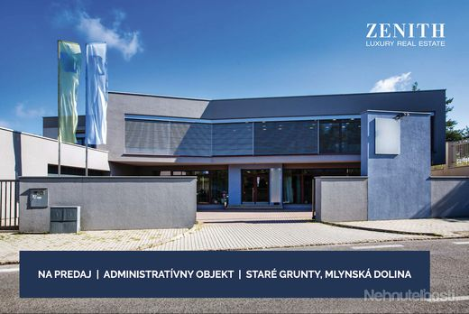 Rodinný dom / administratívny objekt o výmere 1100m2 na ulici Staré Grunty, Bratislava-Karlova Ves