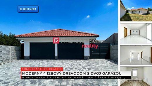 Prenájom - Novostavba, 4i rodinný dom s dvoj garážou, Centrum, Šaľa + 3D