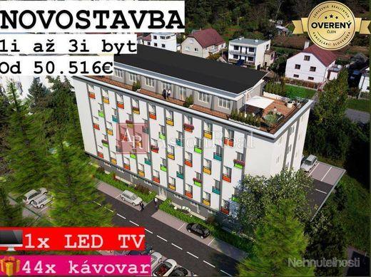 NOVOSTAVBA Detva: 1i byt, 35,22 m2 + záhrada 24,30 m2 + PARKING ZDARMA