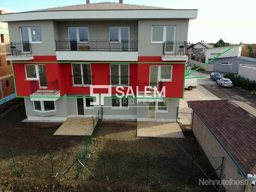 Novostavba. 3 izbový byt s dvomi balkónmi v skvelej lokalite v Senci