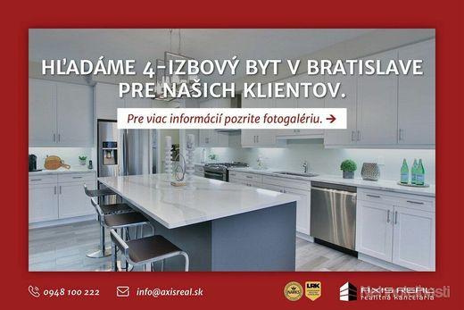 AXIS REAL:: Hľadáme pre našich klientov 4-izbový byt v Bratislave I. - obrázok