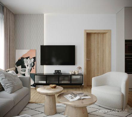 Posledné byty na predaj! 2-izbový byt č. 20/3. poschodie - 63m2 v obci Kúty