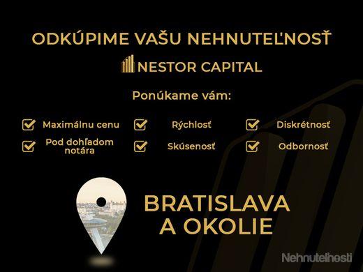 Odkúpime 1-izbový byt, garzónku  do 100% hodnoty v Bratislavskom kraji - obrázok