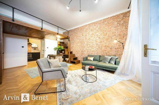Arvin & Benet | Výnimočný dizajnový byt vStarom meste - obrázok